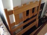 Twin Bed Frame - Pine Head and Foot Board Gormley