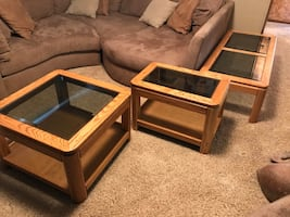 Oak Table Set