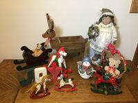 Rocking Horses and Christmas Decorations Wakarusa, 46573