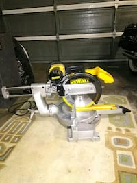 yellow and gray DEWALT miter saw Manteca, 95336