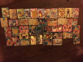 40 RARE Pokemon Japanese Anime Stickers by Bandai 1996