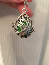 Sterling silver harmony or chime bell pendant Barrie