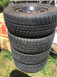 Four All season tires size: 205/60 R15 Excellent condition we changed the truck  Brampton