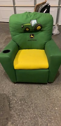 green and orange fabric sofa chair Laurel, 20724