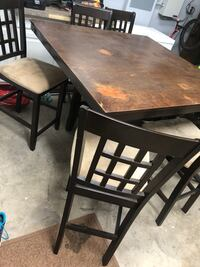 Bar height table solid wood Summerville