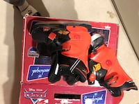 Adjustable boys skates - size shown on each box in the picture Milton