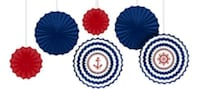 Nautical birthday decoration