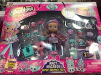 NEW Shopkins Shoppies Food Fair Macy Macaron Super Shopper Pack Exclusive Limit San Jose, 95118