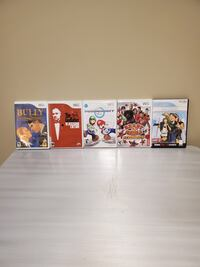 FIVE (5) Wii GAMES - $5 ea.; or ALL FIVE (5) together for $20 (firm). Arlington, 22204