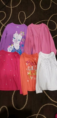 Girl Clothes 7/8 Long Sleeve Shirts Henderson, 89074