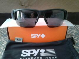 New Spy Optics Matte Black Flyer Sunglasses