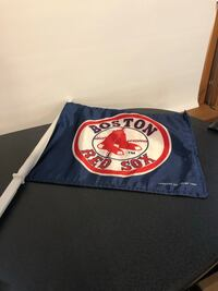Red Sox Car Flag North Scituate, 02857