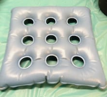 Medline Inflatable Blue Cushion