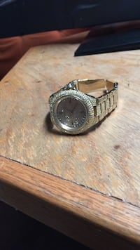 Micheal Kors Gold Link watch  Oklahoma City, 73135
