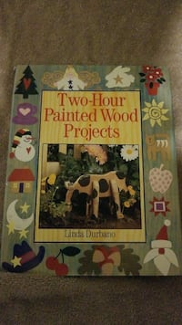 Two-hour painted wood projects book