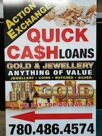 cash loans on gold and jewellery  Edmonton