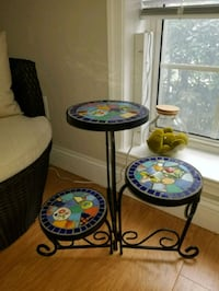 Tiered Mosaic Plant Stand (adjustable) Arlington, 22209