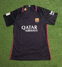 Women's Barcelona Soccer Jersey L/XL. New Miami, 33187