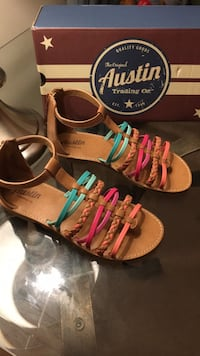 *Brand New* Girls Size 4 sandals from Austin Trading Co. Greensboro, 27214