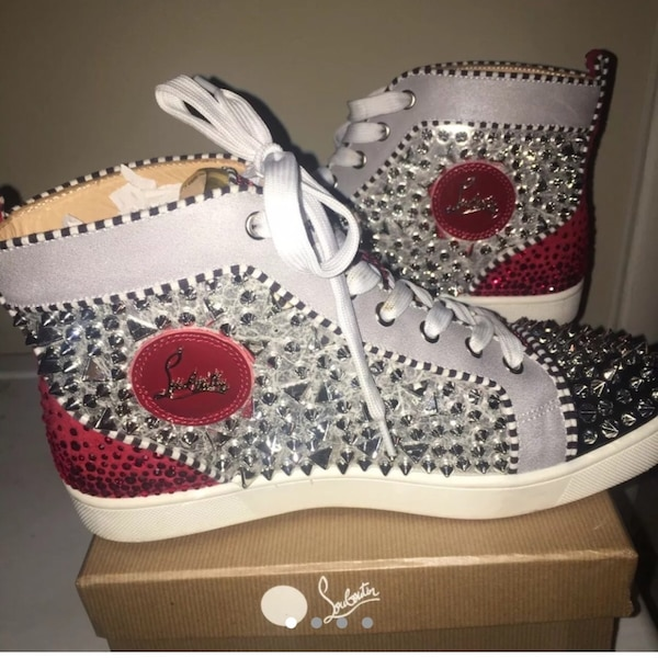 cheap for discount 130f9 13f06 Christian Louboutin Red-bottom sneakers