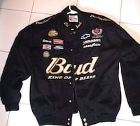 Chase Authentics Dale Earnhardt Jr. Budweiser King Of Beers NASCAR Jacket Men XL  Smoke and pet free home.  Very good condition, no rips and well taken care of.   Toronto