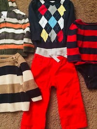 Baby boy toddler super lot size 12-18 months ALL name brands Atkinson, 03811