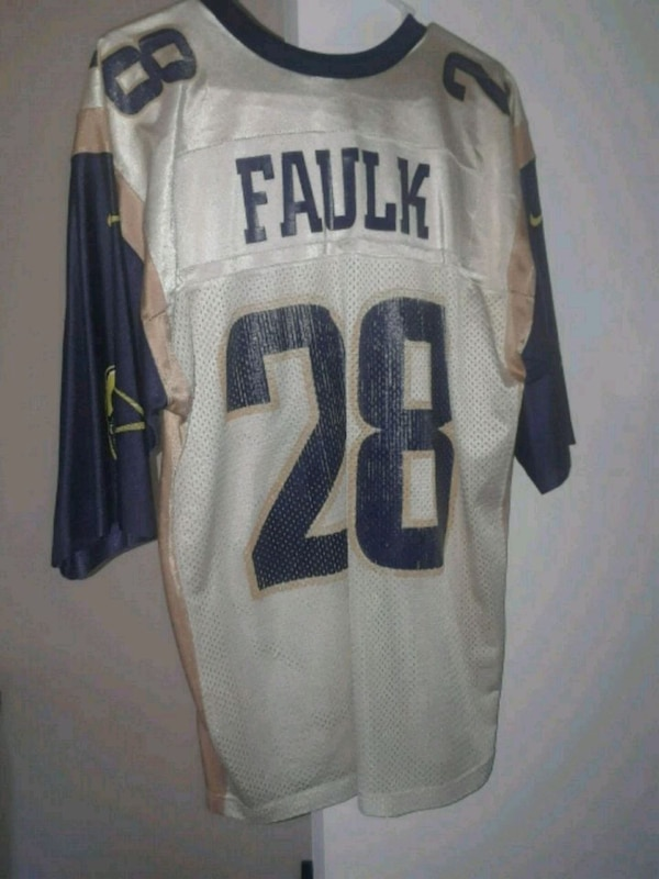 get cheap 0b8bf fa8c7 Used Old throwback Marshall Faulk St.Louis Rams for sale in ...