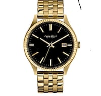 Gold caravelle watch  481 km