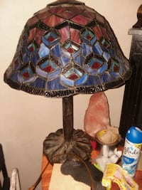 brown and blue table lamp Norfolk, 23502