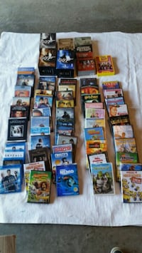 Assorted dvd's and blueray Gatineau
