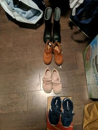 4 pairs of shoes 7-9 kids  Port Moody, V3H 5L1