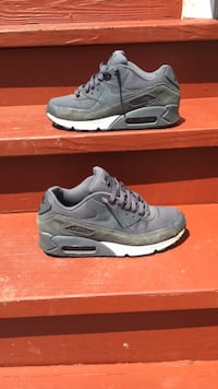 Pair of gray nike air max shoes Richmond, 23237