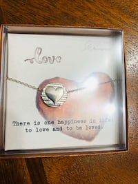 HEART SPIRIT OF LOVE PENDANT~ NECKLACE (pick up only) Alexandria, 22310