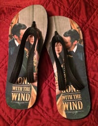 NEW Gone With the Wind Flip Flops  Abilene, 79606