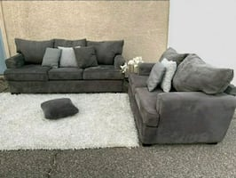 Gorgoues Grey Sofa Set, •DELIVERY AVAILABLE•