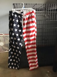 American Eagle red white and blue pajama pants Norman, 73071