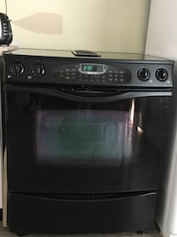 black and gray induction range oven Lévis, G6Y 0X1