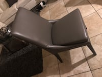 black leather padded rolling armchair Tucson, 85706