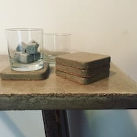 Concrete & Wood Table