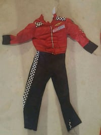 toddler's red and black footie pajama Vaughan, L6A 4L7