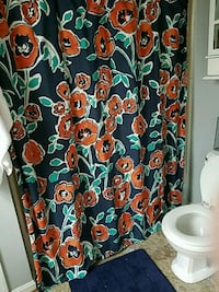 Shower curtain and bath mat Westminster, 21157