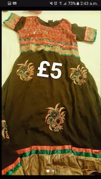 Asian dress kameez size small  Greater Manchester, BL8 1UR