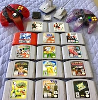 N64 Games+Controllers/Rumble Paks+Memory Cards! PLS READ Description for Prices ! Brampton, L6Y 4G6