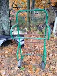 Greenlee hand truck wire rack