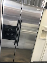 Whirlpool stainless side by side Orlando, 32825