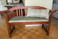Solid Wood Bedroom Bench Mississauga