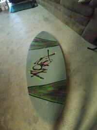 Used twice great board for all size riders