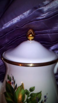 Princess House - Winter Garden coffee server Kitchener