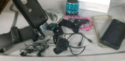 Various cell phone accessories