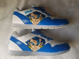 Dragon ball Super Gogeta custom Fila shoes
